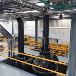 Planning & construction of a plant incl. explosion protection