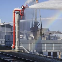 Planung und Bau eines Feuerlöschsystems für den Mannheimer Hafen